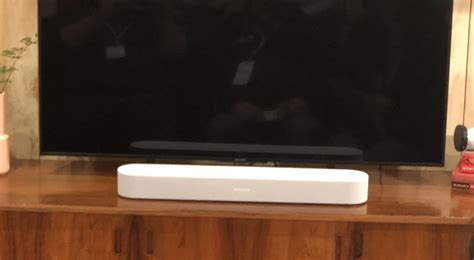 Sonos Beam: Wide Home Theater Sound for Your Living Room