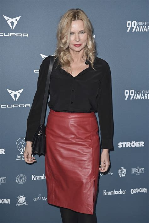 Veronica Ferres attends 99FIRE-FILMS AWARD - Leather