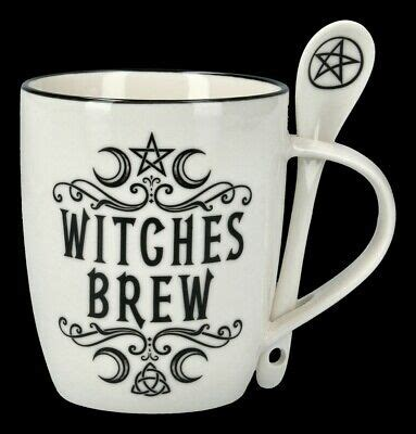 Tasse mit Löffel - Witches Brew - Alchemy England Teetasse