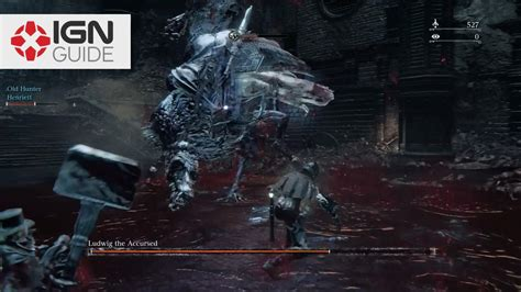 How to defeat Ludwig the Accursed in Bloodborne: The Old