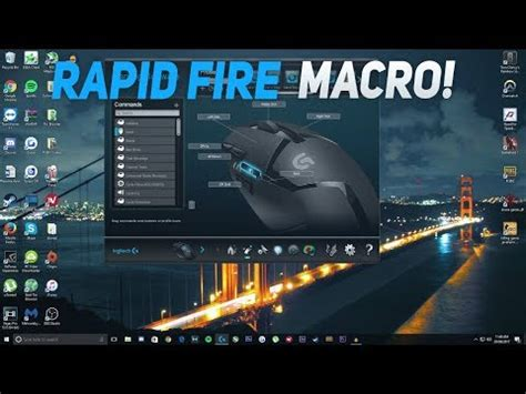 how to get auto click using any logitech gaming mouse! | Doovi
