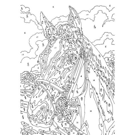 Pin von Eva Gubik auf color by number and dot to dot