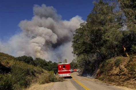 Fast-Moving Hill Fire in San Luis Obispo County Chars