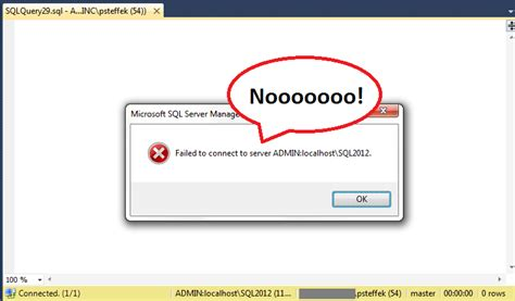 Error when trying to use DAC connection in SQL Server