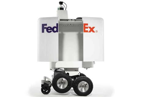 FedEx Will Start Testing Home Delivery Robot
