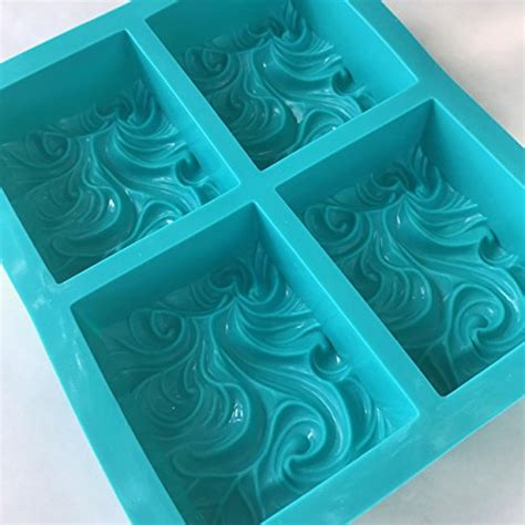 Ocean Wave, Cloud & Smoke Silicone Mold, 3