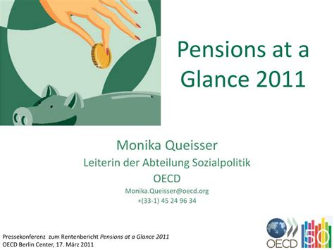 PPT - Pensions at a Glance 2011 PowerPoint Presentation