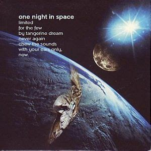 TANGERINE DREAM One Night In Space reviews