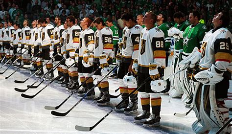 NHL-Debüt der Vegas Golden Knights bei den Dallas Stars