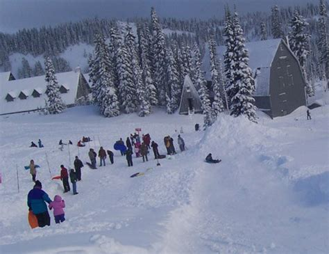 Winter Recreation - Mount Rainier National Park (U