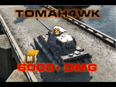 World of Tanks - Tiger II 6000+ DMG - XP Record - YouTube