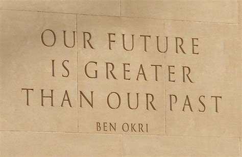 Our future is greater than our past   On the Indian