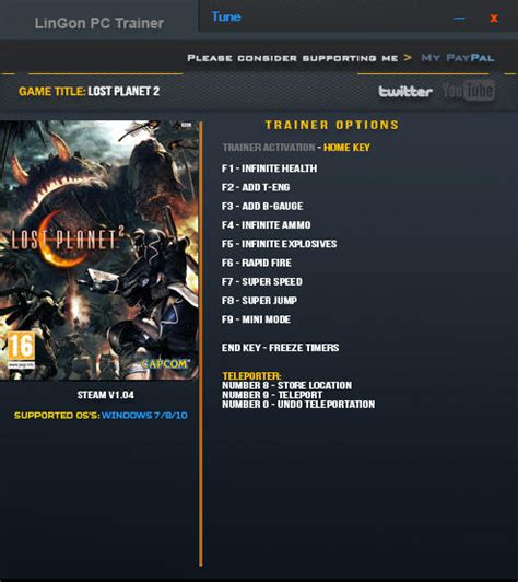 Lost Planet 2: Trainer (+12) [1