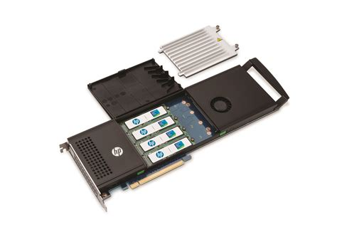 New HP PCI-Express card has room for 4 PCIe SSDs, offers