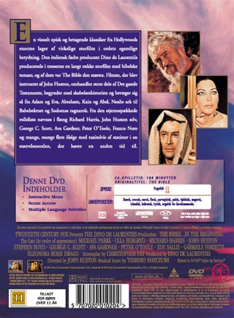 Movie : The Bible – In the Beginning (1966 film)