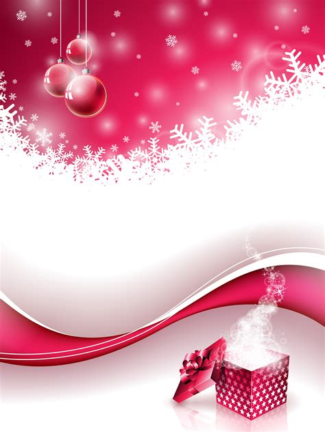 Vector Merry Christmas Holiday illustration with magic