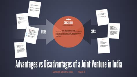 Advantages vs Disadvantages of a Joint Venture in India by
