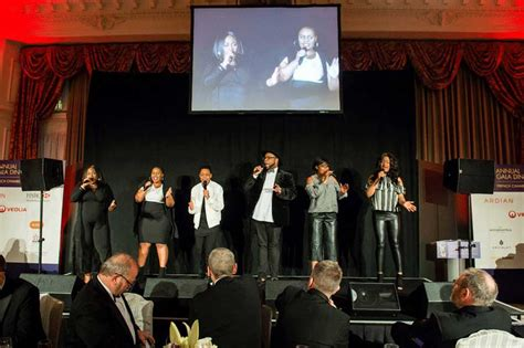 Compere at 2017 French Chamber of Commerce Gala Dinner at