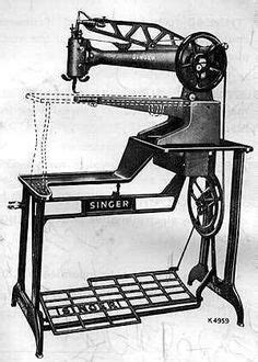 Antique 1909 Dated Singer 29-4 Industrial Sewing Machine