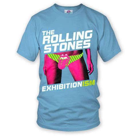 Exhibitionism Blue T-Shirt – The Rolling Stones