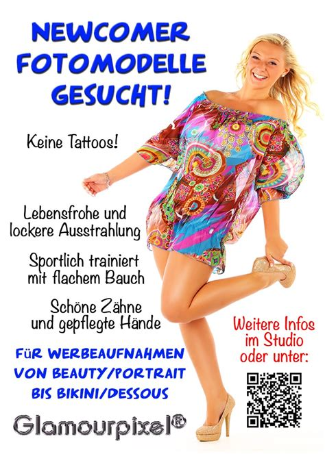 Newcomer Fotomodelle gesucht - New Faces welcome zum Casting