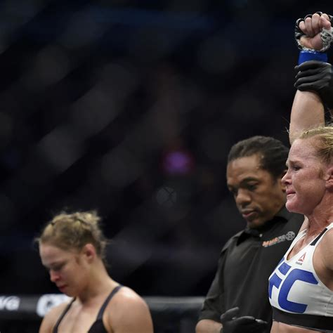 Twitter Reacts to Ronda Rousey's Knockout Loss to Holly