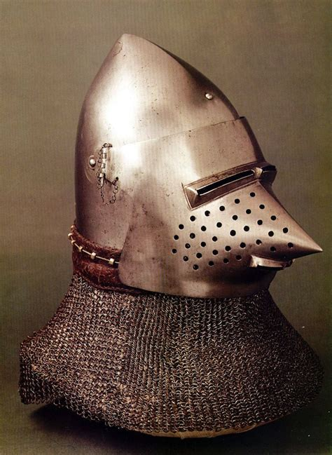 INTO THE VAGUE: Helmets from Chivalric Antiquity