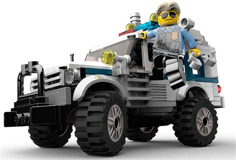 Police SUV Art - Lego City Undercover Art Gallery