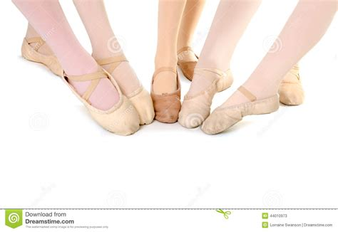 Feet Of Ballet Students Stock Photo - Image: 44010973