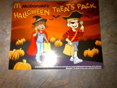 McDonald's Halloween Treat Pack Coupons 2012 Are Available