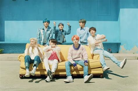 """BTS and Halsey Break the Internet with """"Boy with Luv"""" Video"""