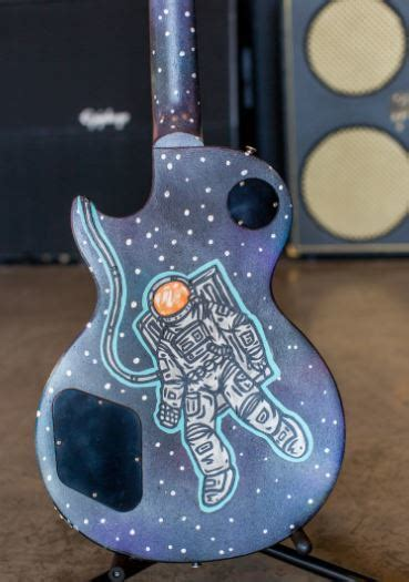 Charitybuzz: Far Out guitar by Bo Spencer with Autographs