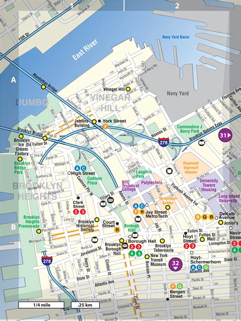 Brooklyn Heights/DUMBO/Downtown - Not For Tourists Guide