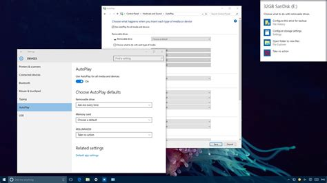How to configure AutoPlay default settings on Windows 10