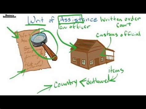 Writ of Assistance Definition for Kids - YouTube