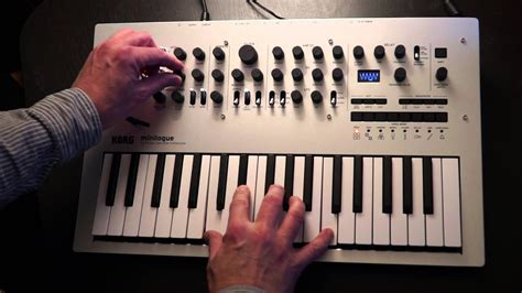 Korg Minilogue Preview #2: Pads - YouTube