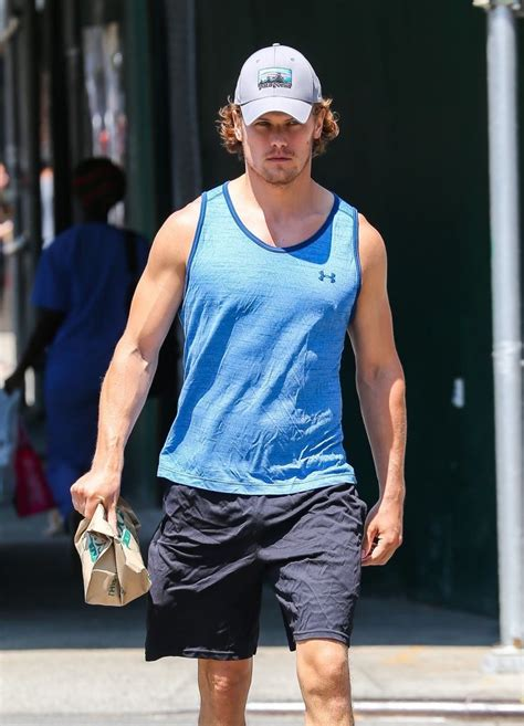 Sam Heughan - Sam Heughan Photos - Sam Heughan Leaves the