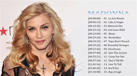 Madonna Greatest Hits Live || The Best Of Madonna - YouTube