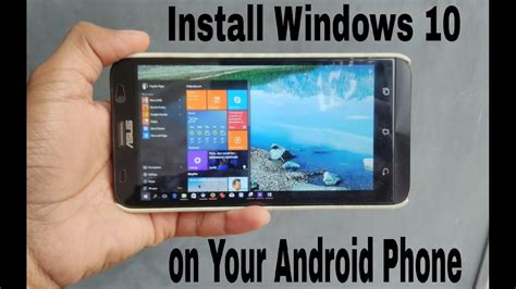 Install Windows XP/7/8/10 on Android[Fastest PC Emulator