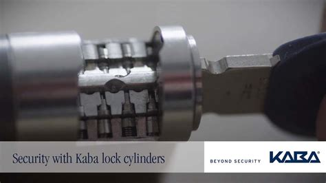 Security with Kaba lock cylinders - YouTube