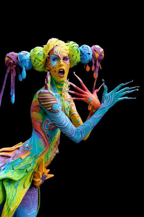 The World Bodypainting Festival Turns the Human Body Into