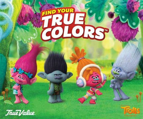 Find your True Colors with the DreamWorks Trolls True