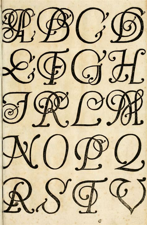 15 English 17th Century Handwriting Fonts Images - 17th