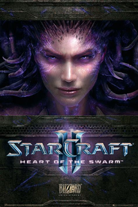 Starcraft 2 - heart of the swarm Poster | Sold at Europosters