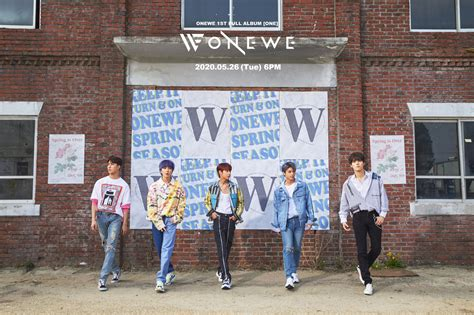 """Onewe Celebrates Their Many Colors in """"End of Spring"""" and"""
