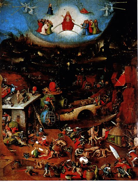Hieronymus Bosch - The Last Judgement | Favourites among