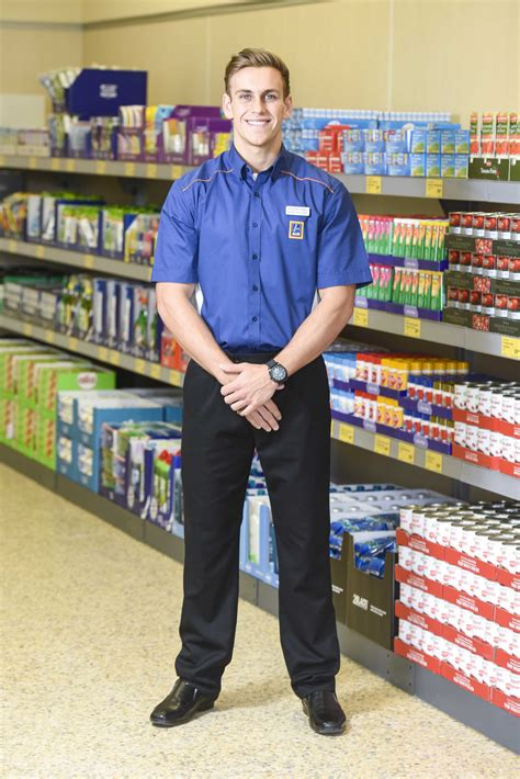 From shelf stacker to supermodel! Chiselled Aldi worker