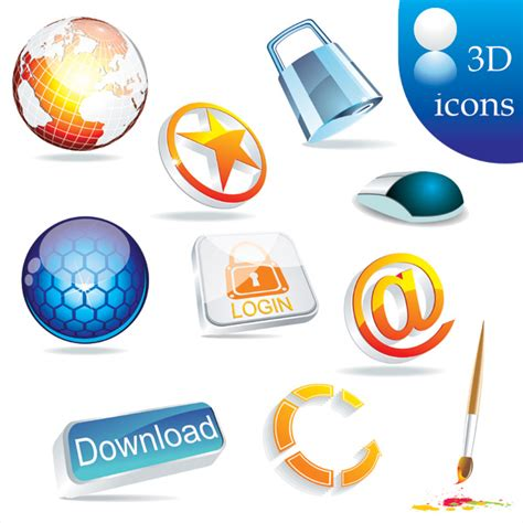 Vector icon texture sets of strong | Download Free Vectors