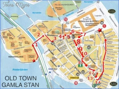 cool Stockholm Map Tourist Attractions   Tourist map