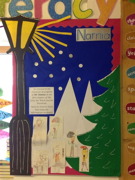 My Narnia themed guided reading board